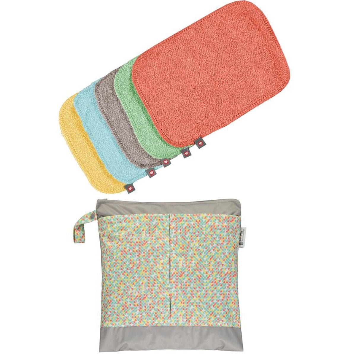Popin pack toallitas lavables colores pastel