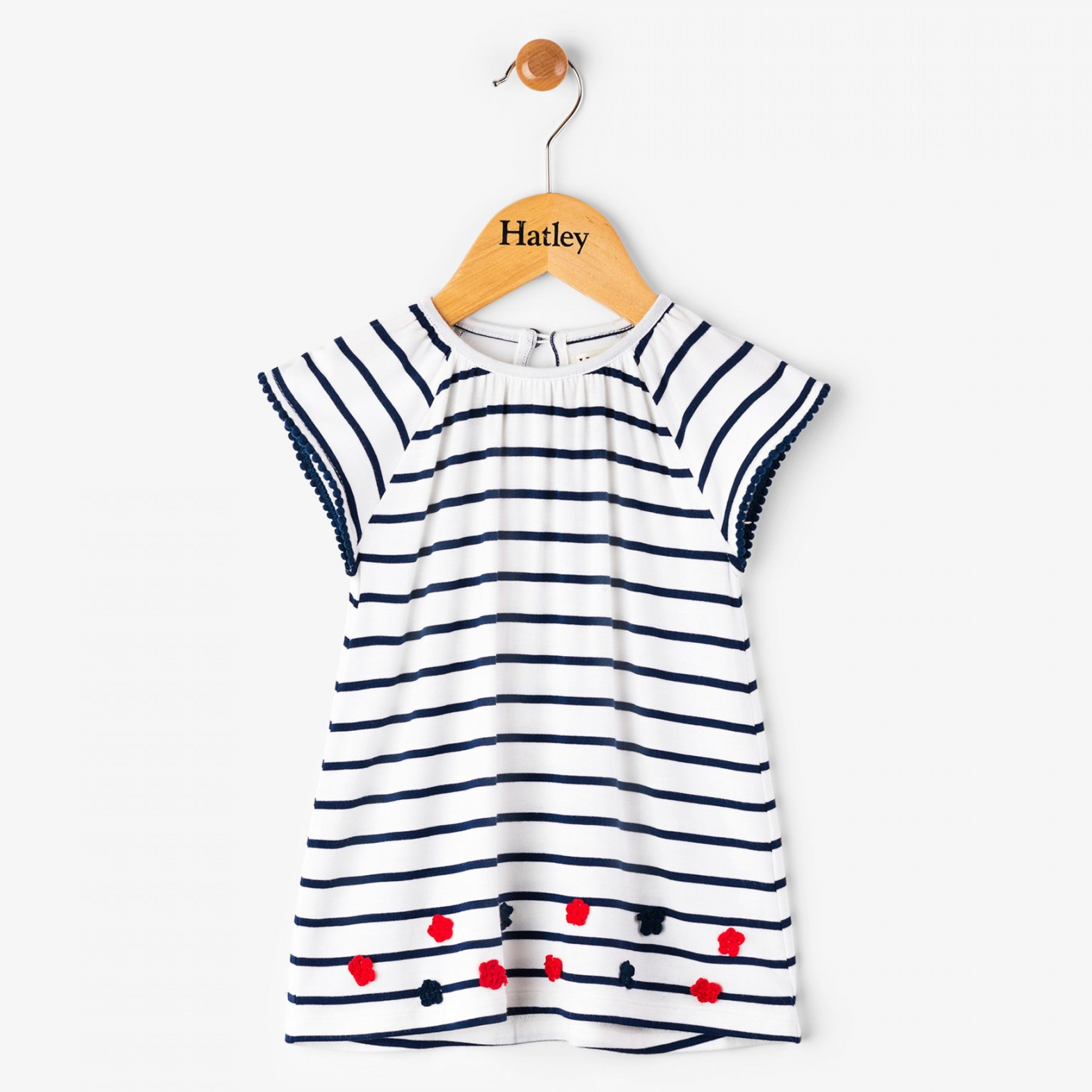 Hatley Flutter sleeve dress
