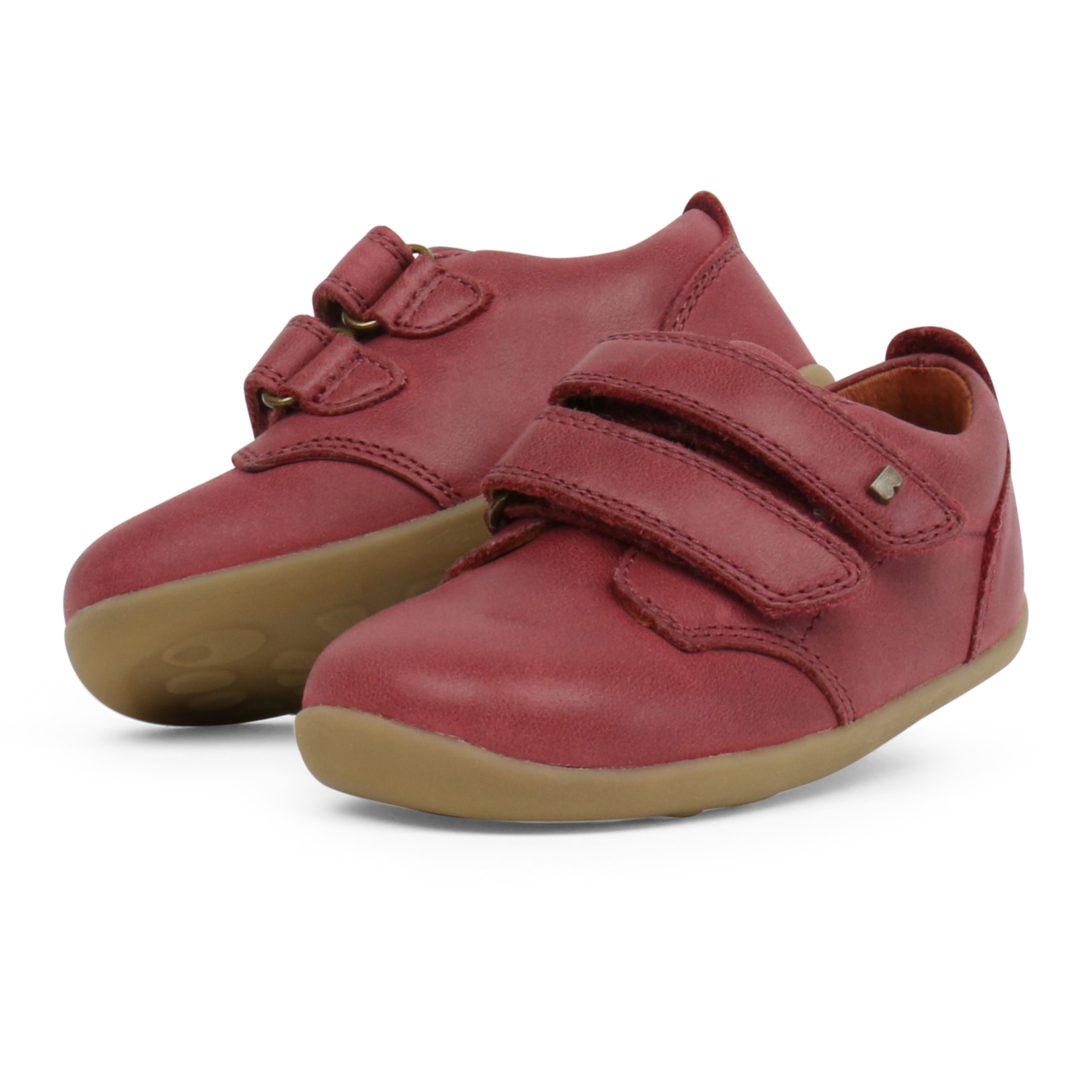 Bobux Step Up Port Shoe Red
