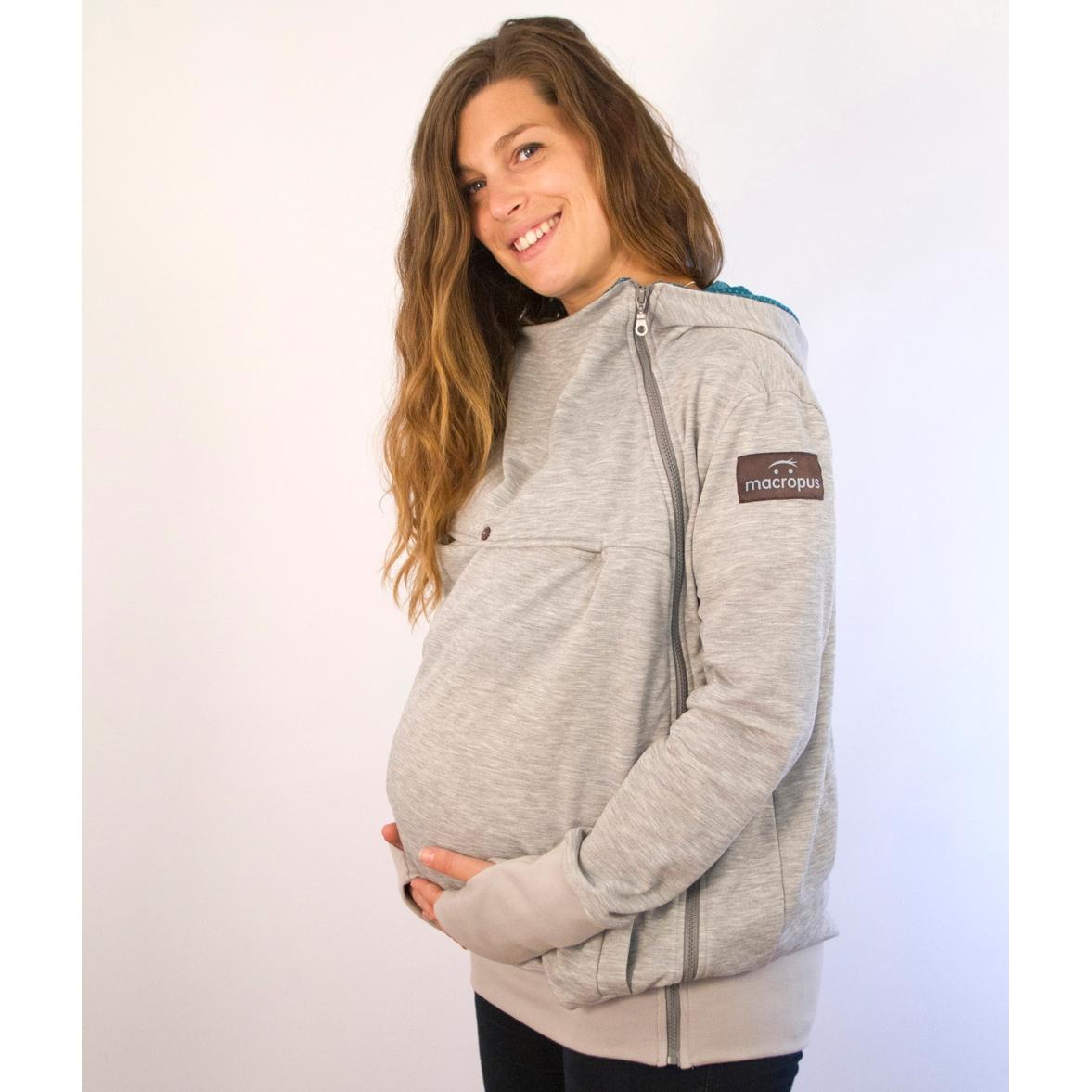 3439140cf MACROPUS Sudadera de embarazo