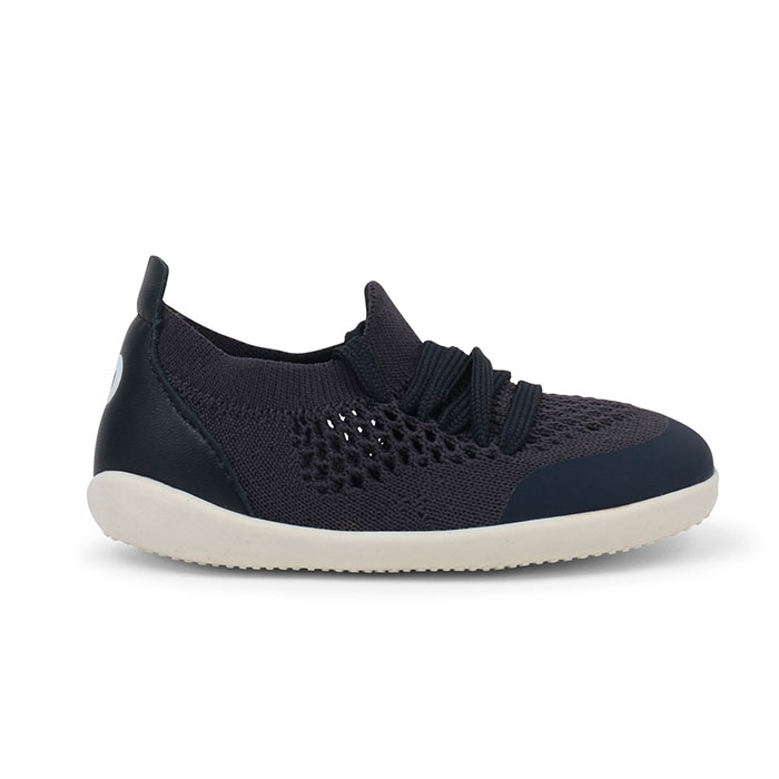 Bobux Step Up Navy Play Knit